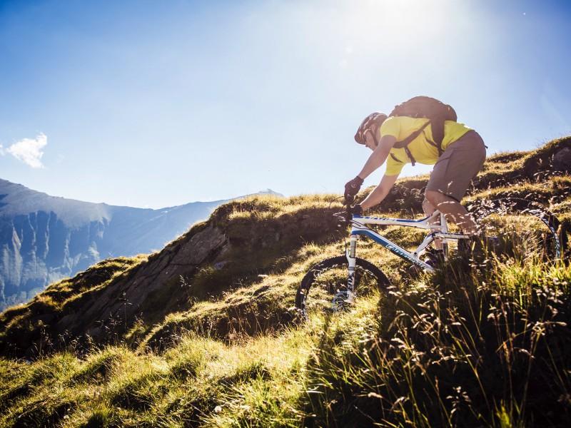 Biken am Kitzsteinhorn